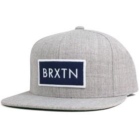 ブリクストン スナップバックキャップ リフト ヘザーグレー 帽子