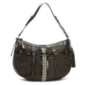 ゲス GUESS ショルダーバッグ SPIKE VY305002 MEDIUM HOBO BROWN BR