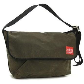 マンハッタンポーテージ manhattan portage ショルダーバッグ 1607v-wp olv wax vintage messenger bag (lg)