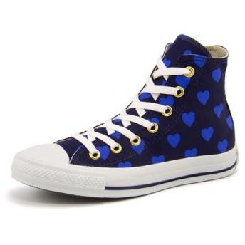 converse(コンバース) ALL STAR TONEHEARTS HI(オールスタートーンハーツHI) 5KC853 ネイビー|スニーカー レディース