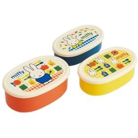 お弁当箱 シール容器 ミッフィー 3個入 子供用 ( ランチボックス 保存容器 弁当箱 )