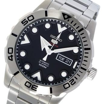セイコー SEIKO セイコー5 SEIKO 5 スポーツ 自動巻き メンズ 腕時計 時計 SRPA03J1 ブラック 代引不可