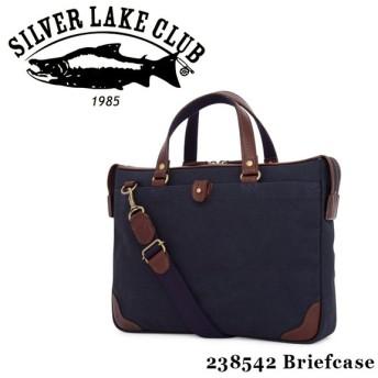 シルバーレイククラブ SILVER LAKE CLUB ブリーフケース 238542 9号帆布ネイビー  2WAY ショルダーバッグ メンズ 撥水 ビジネスバッグ [PO10]