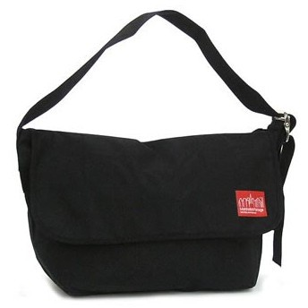 マンハッタンポーテージ manhattan portage ショルダーバッグ 1607v-wp blk wax vintage messenger bag (lg)