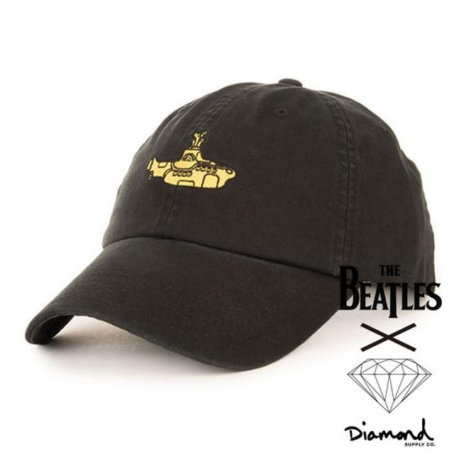 62e6bf3daec  Diamond Supply ダイヤモンドサプライ X THE BEATLES ビートルズ SUB SPORTS CAP キャップ