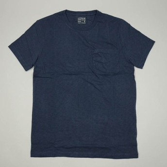 J.CREW / ジェイクルー / スラブコットン ポケットTシャツ / ビンテージネイビー