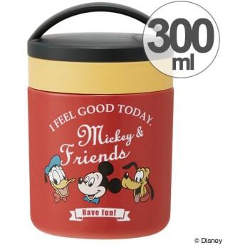 保温弁当箱 デリカポット スープジャー ミッキーマウス タイムレスメモリー 300ml 保温 保冷 ( スープボトル ランチジャー スープウォーマー )