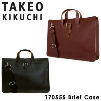 タケオキクチ ビジネスバッグ 2WAY B4 メンズ ネイチャー 170555 TAKEO KIKUCHI 本革 レザー [PO5]