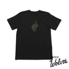 【RAISED BY WOLVES/レイズドバイウルブス】VESSEL T-SHIRT Tシャツ / BLK
