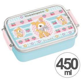 ■在庫限り・入荷なし■お弁当箱 角型 ハミングミント 450ml 子供用 キャラクター ( タイトランチボックス 食洗機対応 弁当箱 )