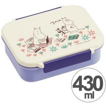 お弁当箱 タイトウェア ムーミン お花畑 430ml キャラクター ( 保存容器 食洗機対応 仕切り付き )