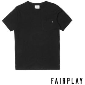 【FAIRPLAY BRAND/フェアプレイブランド】BENZO カットソーTシャツ / BLACK