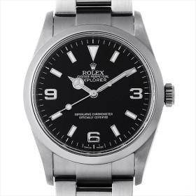 48回払いまで無金利 ロレックス エクスプローラーI 114270 M番 中古 メンズ 腕時計