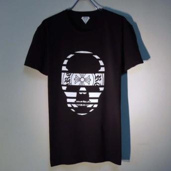 スカル クロス Tシャツ / Black