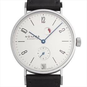 48回払いまで無金利 ノモス タンジェント デイト パワーリザーブ TN1D1W2RD(131) 未使用 メンズ 腕時計