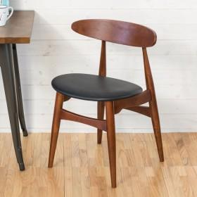 ダイニングチェア 木製 単品 ダイニング リビング 天然木 ウッド リビングチェア 食卓 椅子 イス おしゃれ いす チェア 北欧 デザイン