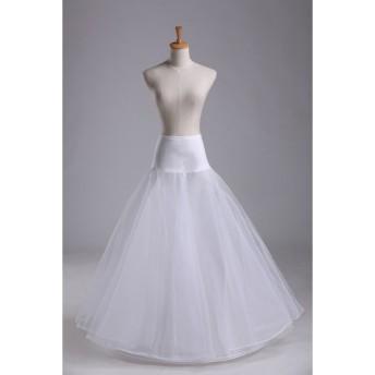 パニエ ドレス用 チュール インナー ウエディングドレス パーティドレス ロングドレス用 レディース プリンセスライン お姫様ドレス ボリュームアップ