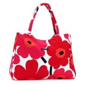 マリメッコ marimekko トートバッグ 33152 PIENI UNIKKO BAGS WHITE/RED RED