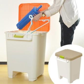 ■在庫限り・入荷なし■洗濯便利ストッカー ( 収納 屋外 ベランダ ハンガー ランドリー 洗濯 ストッカー )