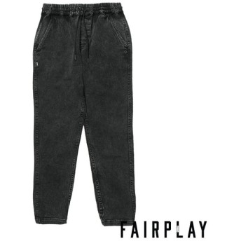 【FAIRPLAY BRAND/フェアプレイブランド】VANROY パンツ / BLACK