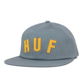 HUF(ハフ) ストラップバックキャップ ショートストップ スレート 帽子
