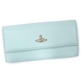 ヴィヴィアン ウエストウッド vivienne westwood 長財布 長札 cameo 32295 long wallet with zip light blue l.bl