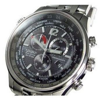 シチズン CITIZEN エコドライブ クロノグラフ 腕時計 AT0365-56E