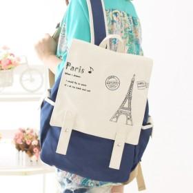 リュック デイパック バックパック レディース 鞄 カバン かばん bag カジュアル ダークブルー ライトブルー ライトグリーン ダークグリーン ド