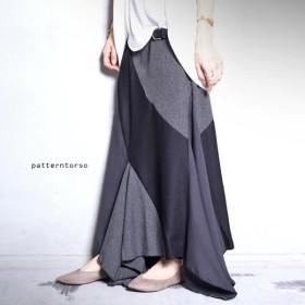 ボトム スカート ロングスカート レトロ 変形モードスカート・再再販。「G」##メール便不可