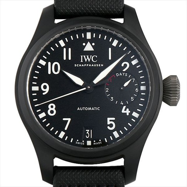 3c8e1027a4 48回払いまで無金利 IWC ビッグパイロットウォッチ トップガン IW502001 新品 メンズ 腕時計