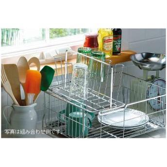 ■在庫限り・入荷なし■ファビエ 伸縮式グラススタンド( キッチン 収納 水切りかご ラック コップスタンド ステンレス )
