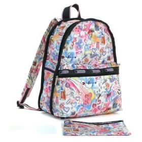 レスポートサック lesportsac バッグパック バッグ ラズルダズル 7812 basic backpack