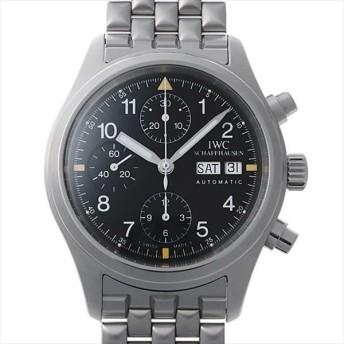 48回払いまで無金利 IWC メカニカルフリーガー クロノグラフ IW370607(3706-07) 中古 メンズ 腕時計