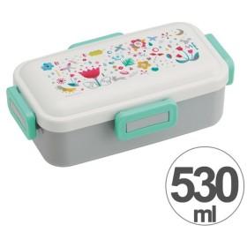 お弁当箱 ララ・ブルーム ふわっと弁当箱 1段 530ml ( 弁当箱 ランチボックス ドーム型 )