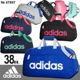 アディダス adidas ボストンバッグ 修学旅行バッグ 60センチ 38リットル ジラソーレ4 2WAY デカロゴ かわいい 男子 女子 林間学校 女子高生 47897