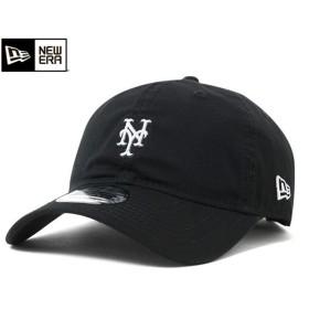 ニューエラ キャップ ストラップバック マイクロ ロゴ ニューヨーク メッツ ブラック 帽子