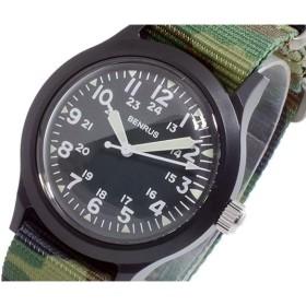 ベンラス BENRUS クオーツ メンズ 腕時計 BR763-BLACK-05