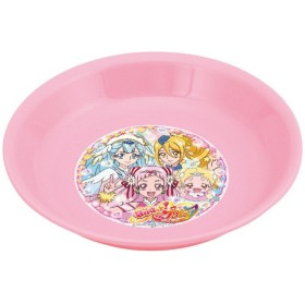 小皿 お皿 食器 HuGっと!プリキュア 子供用 キャラクター ( 子供用食器 皿 HuG プリキュア )