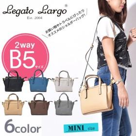 レガートラルゴ Legato Largo バッグ 箔プリント ミニショルダーバッグ レディース