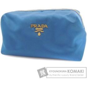 PRADA プラダ 1N1490 化粧ポーチ ナイロン素材 レディース 中古