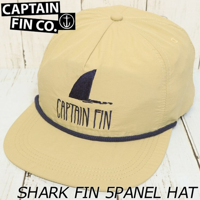 CAPTAIN FIN キャプテンフィン Shark Fin 5 Panel Hat スナップ