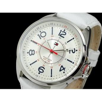 トミー ヒルフィガー tommy hilfiger 腕時計 レディース 1781261 シルバー×ホワイト