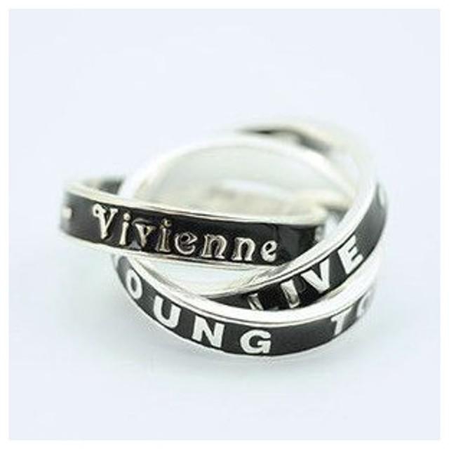 Vivienne Westwood ヴィヴィアンウエストウッド 3連リング シルバー VWR011