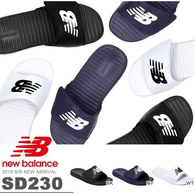 cdd0bfc16534c サンダル new balance ニューバランス SD230 メンズ レディース スポーツサンダル シャワーサンダル プール 海水浴 ジム 得割