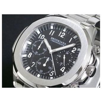 ブルッキアーナ 腕時計 クロノグラフ メンズ BA1643-BK2