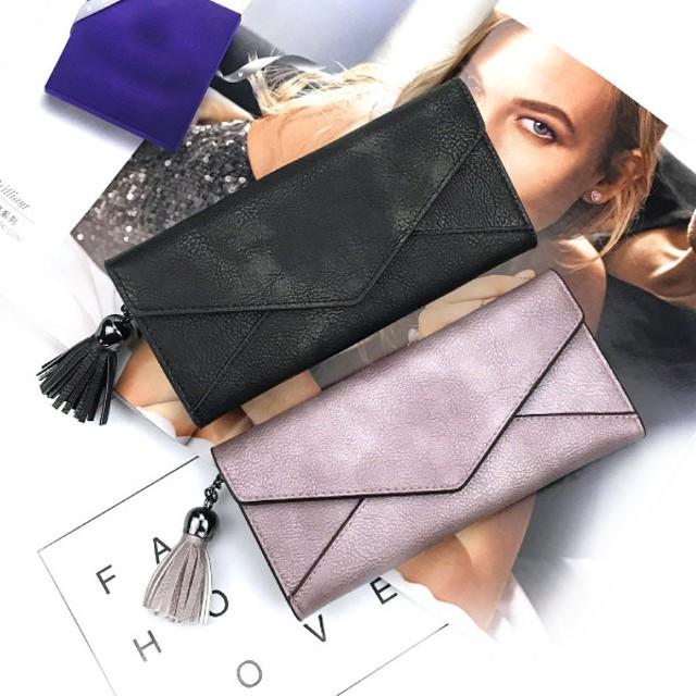 財布 レディース 長財布 二つ折り 小銭入れ 女の子 おしゃれ 可愛い かわいい カード入れ 高校生 中学生 プレゼント