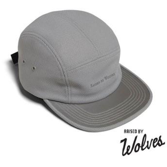 【RAISED BY WOLVES/レイズドバイウルブス】3M VISOR CAMP CAP ストラップバックキャップ / GREY DIAMOND PRO