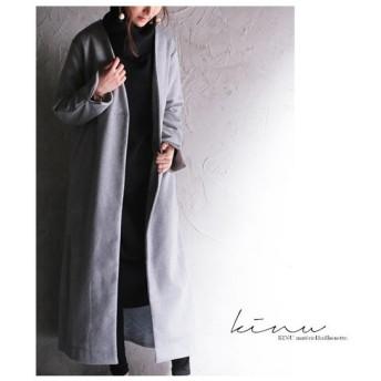 ずっと愛用したい、最高峰のコート。デザインコート・20時〜再再販。「G」##メール便不可