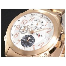 COGU コグ 腕時計 クロノグラフ DC103-RG