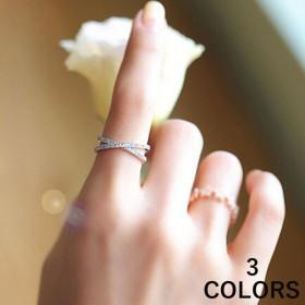 アクセサリー リング 指輪 ジュエリー レディース 女性 上品 フォーマル クロスリング シンプル おすすめ 個性的 可愛い かわいい おしゃれ ゴー